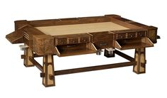 The Sultan an ultimate gaming table to make kings envious with a price tag that while worth it would empty most peasants coffers price $14,000 (corrected from 1400)