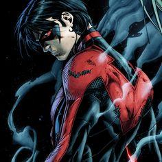 My favorite Robin. Besides Jason Todd. Batman Universe, Comics Universe, Nightwing, Batgirl, Batman Sidekicks, First Robin, Richard Grayson, George Perez, Dc Comics Characters