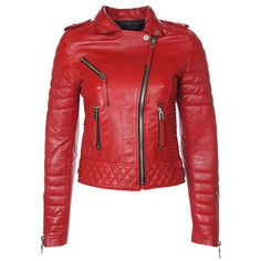 Fab.com   Quilted Jacket Women's Pop Red    could I get this in black please?