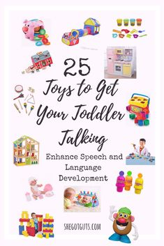 25 Toys to Get Your Toddler Talking One of the things people ask me about most often is, How did you Speech Therapy Toddler, Preschool Speech Therapy, Speech Language Therapy, Speech Therapy Activities, Language Activities, Speech And Language, Toddler Activities, Speech Pathology, Toddler Toys