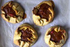 Rustic Rhubarb Tarts (from Smitten Kitchen)