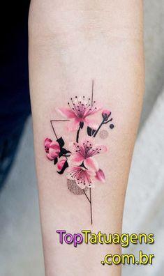 20 tatuagens femininas no braço para você se inspirar