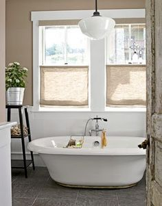 Tour This Inviting West Virginia Arts And Crafts Inspired Home. Bathroom  Window CoveringsCottage ...
