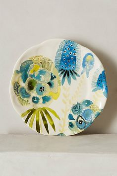 I have seen a lot of decorative decoupage, however I need to find out if it is safe for eating off of or not.  #anthropologie
