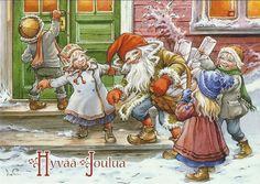 "Photo from album ""Lars Carlsson"" on Yandex. Swedish Christmas, Christmas Art, Beautiful Christmas, Yule, Christmas Knomes, Beau Gif, Kobold, Scandinavian Gnomes, Gifs"