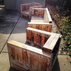 Pallet Sofa Set for Outdoor | Pallet Furniture DIY