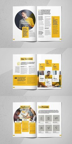 Business Brochure Business Brochure Business Brochure Template # Brochure # Template Effective Pictures We Offer You About medical Magazine Design A quality picture can tell you many things. You can find the Coperate Design, Page Layout Design, Buch Design, Magazine Layout Design, Magazine Layouts, Design Color, Flyer Design, Brochure Mockup, Brochure Layout