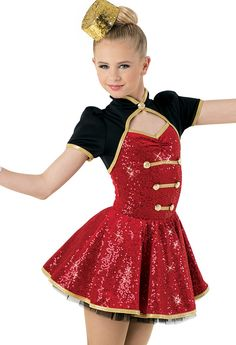 Weissman® | Sequin Plush Bellhop Character Dress