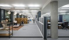 """Saatchi & Saatchi, a globaladvertising agency that provides innovative solutions to some of the major brands in the world such as: Lenovo, Lexus, T-Mobile, Visa and Toyota, recently opened a new office in London, England, which was designed byarchitecture and design firm Jump Studios. """"Inside, a traditional ground floor reception area has been dispensed with … Continue reading A Tour of Saatchi & Saatchi's Super Cool London Office →"""