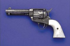 Texas Ranger Capt. John R. Hughes' Engraved Colt Quickdraw Model Single Action Army Revolver