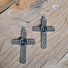 Loulabelle Cross Earrings
