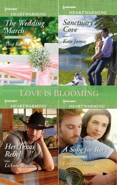 Love is Blooming! Harlequin Heartwarming March 2017 Releases: #sweetromance #amreading #contemporary #romance