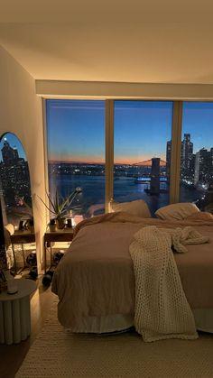 Apartment View, Dream Apartment, York Apartment, Dream Home Design, My Dream Home, Dream Life, Dream Rooms, Dream Bedroom, Room Ideas Bedroom