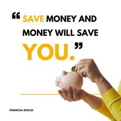 Saving money provides a cushion against catastrophe. It is the power to absorb hard punches. It requires a discipline that, when mastered, qualifies one for richer opportunities Financial Tips, Financial Literacy, Save Yourself, Saving Money, Finance, Cushion, Save My Money, Pillows, Cushions