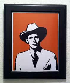 Hank Williams Art Print by anINSTITUTE on Etsy
