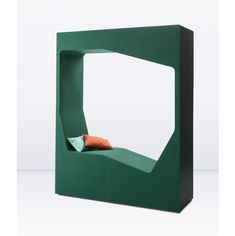 Lounge Pod from the 'Parkour' range has interpreted the traditional storage cupboard and transformed it into a functional place to rest Office Pods, Comfortable Sofa, Cupboard Storage, Parkour, Rest, Lounge, Comfy, Traditional, Chair