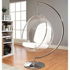 Eero Aarnio Style Bubble Chair With Cushion