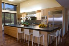 Kitchen, Rift Oak