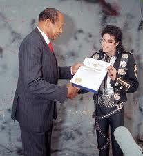 On November 13th 1988, Los Angeles' Mayor Tom Bradley declared November to be Michael Jackson Month.