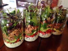 Mason Jar Meal Prep: Taco Salads