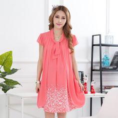 Maternity Dress Korean Fashion