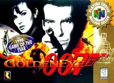 James Bond Golden Eye 007  N64  if mario kart doesn't take the cake for best multiplayer game then it's 007 hands down.  Still play it to this day and just like 16 yrs ago always late at night.  Nothing like spending the twilight hours stalking your buds and putting a bullet in their chest.  Laid the framework for multiplayer shooters.  By the way Oddjob is for cheaters and Siberian Special Forces is mine!!!