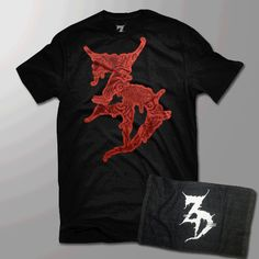 "$15!!! Limited Edition Zeds Dead ""Living Dead Tour"" tee. FREE Rally Towel!"