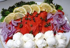 Smoked Salmon Platter: Easy, Beautiful Appetizers