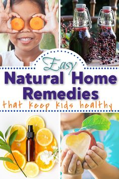 Many people think about natural and herbal remedies when they start to notice the first signs of possible illness. Here are some great ones for kids.