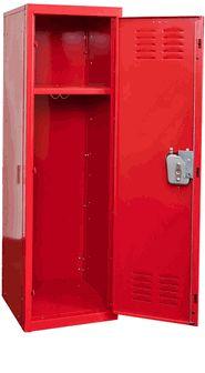 Rally Red Kids Standard Locker, HKL151554-1RR by Hallowell by Hallowell | BizChair.com
