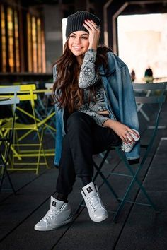 Selena Gomez for her new fall/winter Adidas NEO collection - 2014