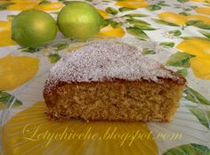 Letychicche: Torta a limone