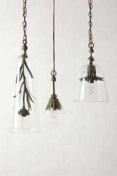 Anthropologie Iron Petals Pendant Lamp on shopstyle.com