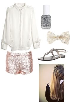 """girly girl outfit :)"" by fashionbyreagan on Polyvore"
