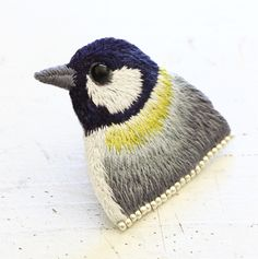 Embroidery bird by P