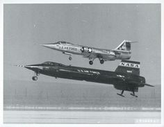 What is the only chase plane that can stay with Scott Crossfield flying the X 15?  An F 104!
