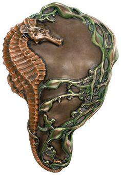 Art Nouveau Seahorse