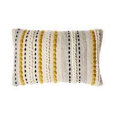 Home Republic – Jells Cushion Senf – Haushaltswaren Kissen – Adairs Online - Cushions Mustard Cushions, Yellow Cushions, Boho Cushions, Diy Pillows, Decorative Cushions, Yellow Throw Pillows, Boho Throw Pillows, Accent Pillows, Scraps Quilt
