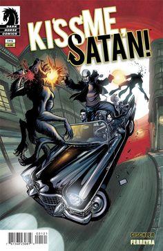 Kiss Me Satan #1 Dark Horse New Orleans werewolves witches vampires mafia VF