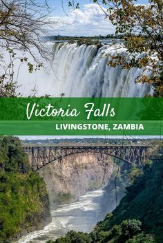A visit to Victoria Falls in Zambia is the trip of a lifetime... but in the rainy season, prepare to get wet!