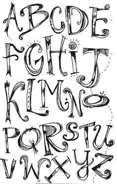 Sweet looking typography alphabet doodle fonts, doodle lettering, creative lettering, lettering ideas, Doodle Fonts, Doodle Lettering, Creative Lettering, Lettering Styles, Lettering Ideas, Block Lettering, Font Styles, Fonts To Draw, Hand Lettering Fonts