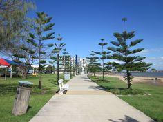 Woody Point Brisbane Queensland, Woody, Coastal, Sidewalk, Australia, City, Places, People, Travel