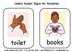 Useful Auslan Signs for Nurseries (Australian Sign Language) Baby Sign Language Chart, Sign Language Book, Simple Sign Language, Sign Language For Kids, Sign Language Phrases, Sign Language Alphabet, Learn Sign Language, Classroom Language, Australian Sign Language