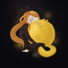My Positive Style Texture Illustration, Children's Book Illustration, Character Illustration, Illustration Mignonne, Art Mignon, Cat Art, Cute Drawings, Cute Wallpapers, Comic Art