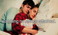watching no strings attached