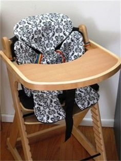 Make that highchair less hard on that little bum. And catch all the crumbs too.