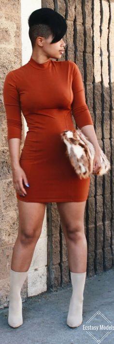 Pumpkin Spice // Fashion Look by Carmen Alexanadra
