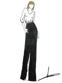 Los diseños de madrina, testigo o invitada de Teresa Palazuelo son de alta costura.