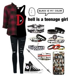 """Untitled #896"" by xxghostlygracexx ❤ liked on Polyvore featuring Marvel Comics, Topshop and Converse"