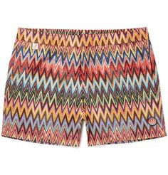 Missoni zig zag swimming trunks.